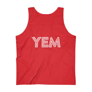 YEM, You Enjoy Myself, Men's Ultra Cotton Tank Top