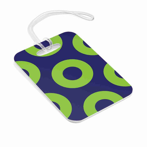 Phexico - Green Henrietta Donut Bag Tag - Luggage Tag - PH