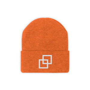 Kasvot Vaxt Boxes Embroidered Knit Beanie