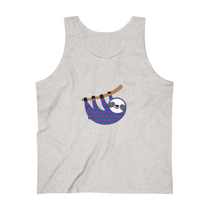 Sloth Henrietta Donuts Men's Ultra Cotton Tank Top