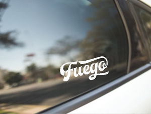 Fuego Vinyl Sticker Decal - PH