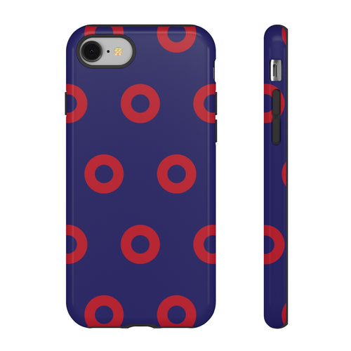 Red Circle Donut Tough Cases - PH