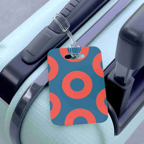 Fishman Donut HEX Luggage Bag Tag, Phan Bag Tag