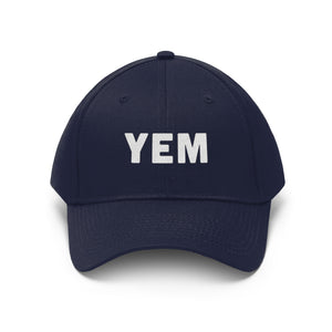 YEM Embroidered Twill Hat