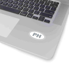 Load image into Gallery viewer, PH Euro Oval Sticker GREY
