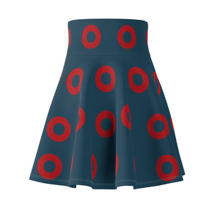 Phish Fishman Donut Flair Skirt Donuts 2 - Red Donut- Fishman Donut - Donut Skirt, Phan Circle Donut