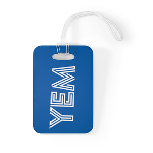 YEM BLUE Bag Tag - YEM Luggage Tag