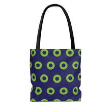 Load image into Gallery viewer, Phexico - Green Henrietta Donut Tote Bag - Green Donut - PH