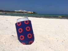Load image into Gallery viewer, Red Circle Donut Koozies old - PH