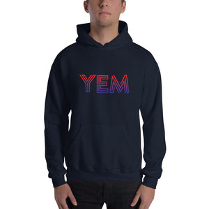 YEM Fade Unisex Hoodie-You Enjoy Myself