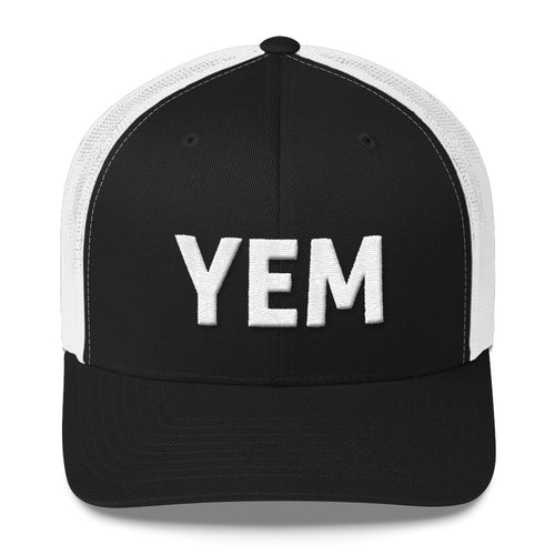 YEM Embroidered Trucker Hat Cap - PH