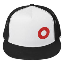 Load image into Gallery viewer, PH Hat Red Donut Embroidered Trucker Hat Cap