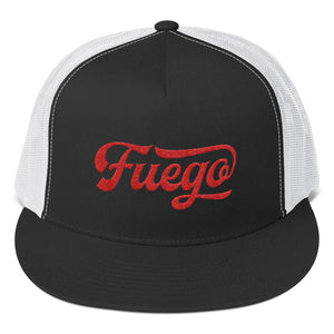 Fuego Embroidered Trucker Hat - PH