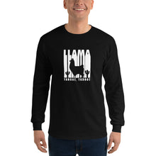 Load image into Gallery viewer, Llama Taboot Long Sleeve Shirt-Phish Inspired-Phish Donut-Phish LongSleeve Shirt-Red Circle Donut