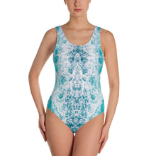 Load image into Gallery viewer, One-Piece Sea Foam Swimsuit