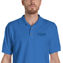 Load image into Gallery viewer, YEM Embroidered Polo Shirt - PH