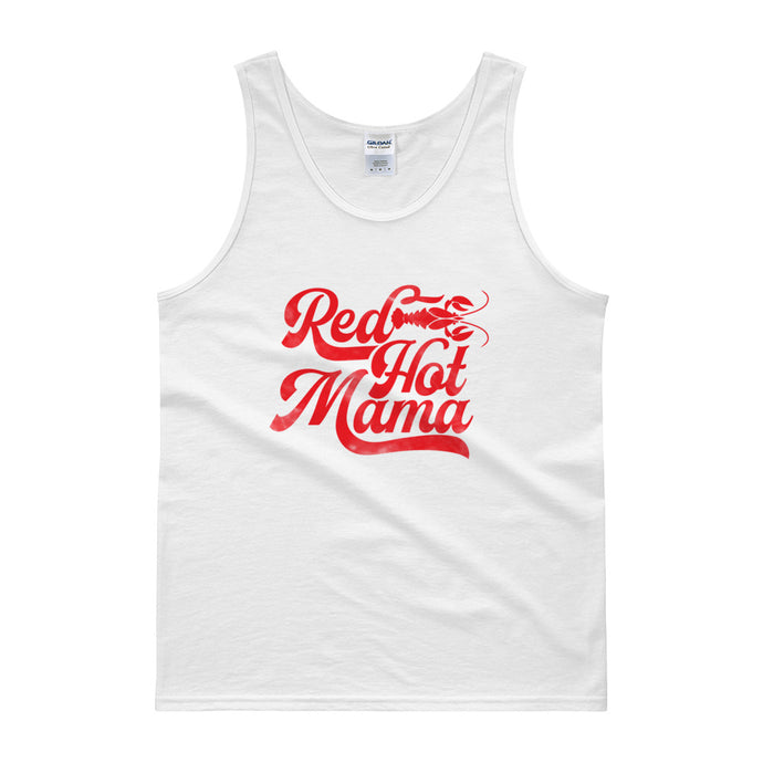 Red Hot Mama DISSTRESSED Grahpic Tank top-  WP