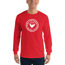 Load image into Gallery viewer, My Chicken Tastes Good Long Sleeve Shirt