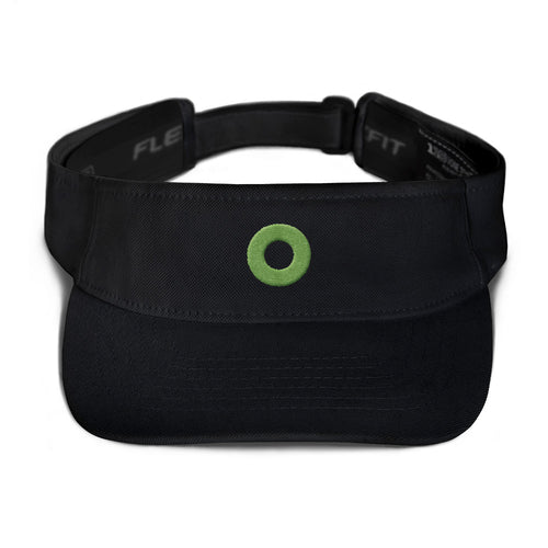 Phexico - Green Henrietta Donut Embroidered Flexfit Visor - Henrietta Donut - PH