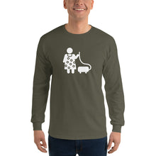 Load image into Gallery viewer, Vacuuming Fishman Long Sleeve Shirt