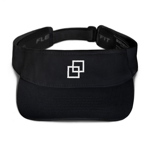 Kasvot Vaxt Flexfit Visor - Face Plant - Turtles in the Clouds - White Square - PH