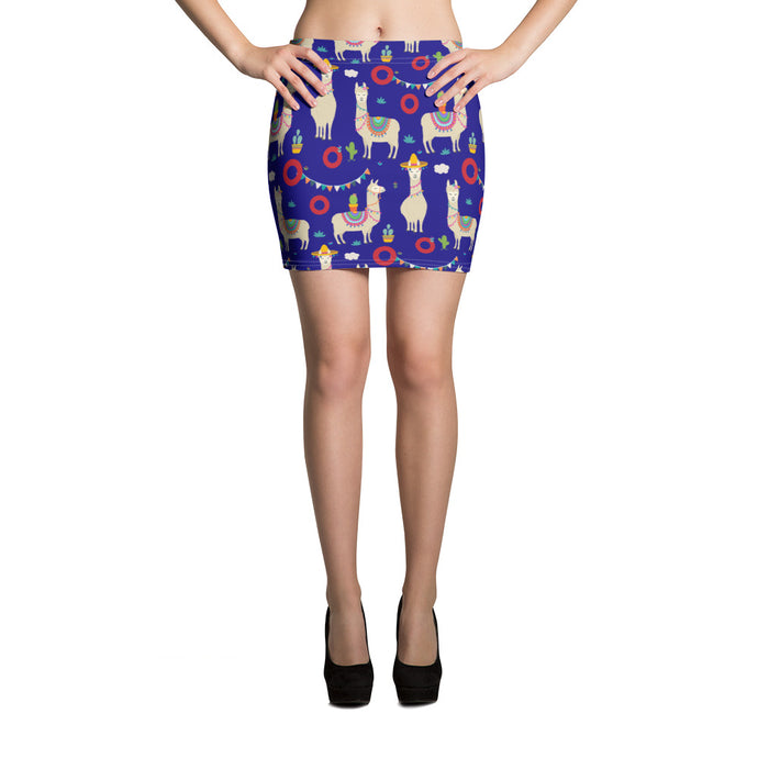 Llama Taboot Taboot Mini Skirt - PH