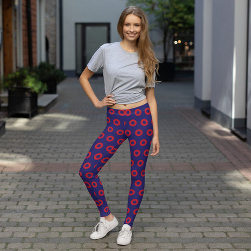 Henrietta Red Donut Leggings