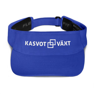 Kasvot Vaxt Flexfit Visor - Face Plant - Turtles in the Clouds - White Squares - PH
