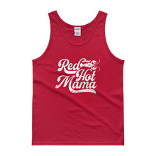 Load image into Gallery viewer, Red Hot Mama DISSTRESSED Graphic Tank top-  WP