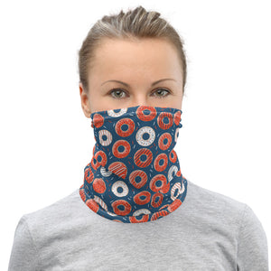 Donut Face Mask Coverlet,Neck Gaiter