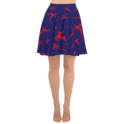 Antelope Running Skirt Skater Skirt - PH