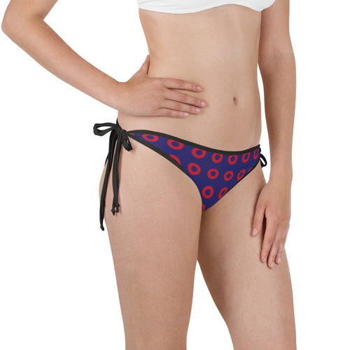 Red Cicle Donut Stacked Donuts Bikini Bottom - PH