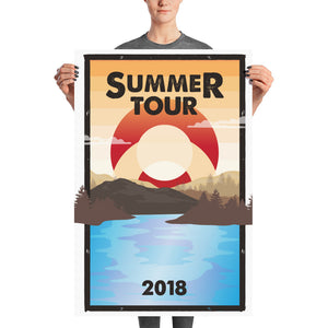 PH Summer Tour Lot Poster  2 Sizes