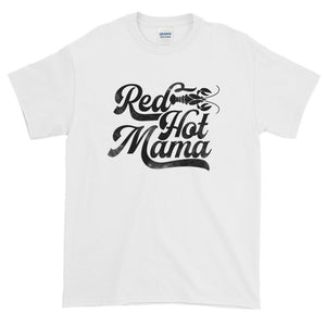 Red Hot Mama DISSTRESSED Graphic  T-Shirt-  WP