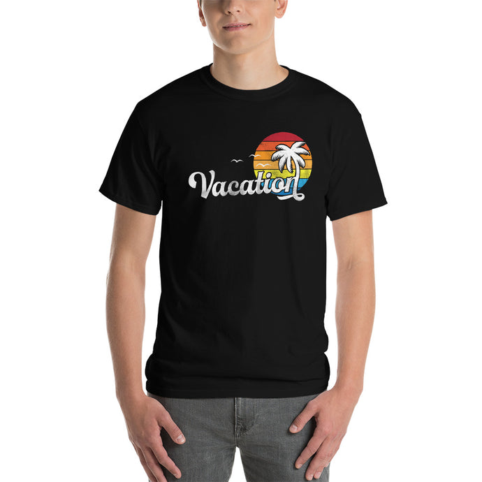 Vacation DISSTRESSED Graphic  T-Shirt-  WP