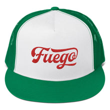Load image into Gallery viewer, Fuego Embroidered Trucker Hat - PH