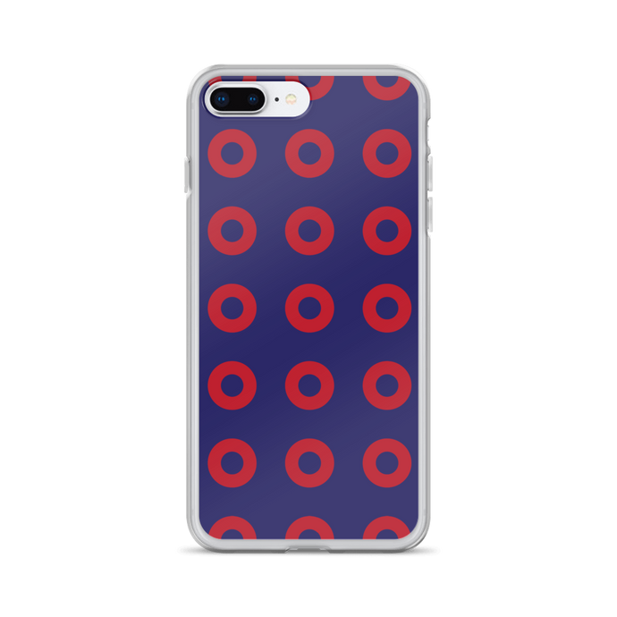 Red Donuts Red Circles iPhone 7/7 Plus Case - PH