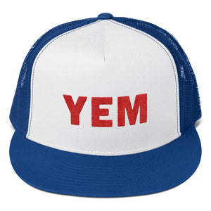 YEM Embroidered Trucker Hat - PH