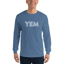 Load image into Gallery viewer, YEM Gildan Long Sleeve Shirt