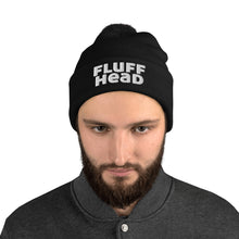 Load image into Gallery viewer, Fluff Head Embroidered Pom-Pom Beanie
