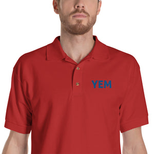 YEM Embroidered Polo Shirt - PH