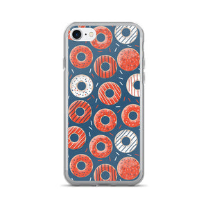 Bakers Dozen Donut Pattern iPhone 7/7 Plus Case - PH