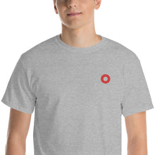 Load image into Gallery viewer, Red Circle Donut Embroidered Unisex T-Shirt - PH