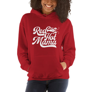 Red Hot Mama Unisex Hoodie - Hooded Sweatshirt - JB