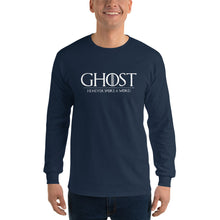 Load image into Gallery viewer, Ghost: He Never Spoke a Word Ultra Cotton Long Sleeve Tee