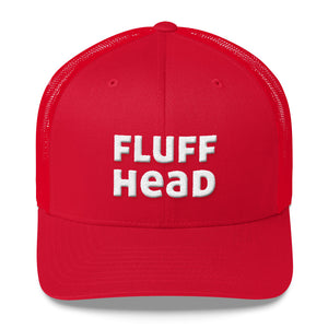 Fluffhead Embroidered Trucker Hat Cap