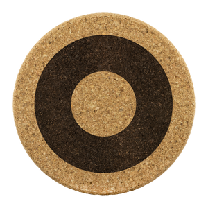 Henrietta Circle Donut Pattern Cork Coaster Set - PH