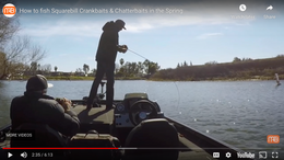 Spring Fishing Tips For Catching Bigger Bass Fishing Squarebill Crankbaits & Chatterbaits