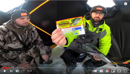 30 Minute Ice Fishing Challenge | Putting the Monsterbass Ice Fishing Box To The Test!