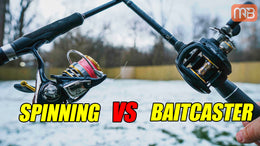 Spinning Rod Vs Baitcasting Setup (Fishing Rod Basics)